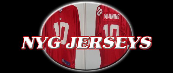NY GIANTS jerseys