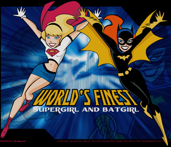 Supergirl and Batgirl