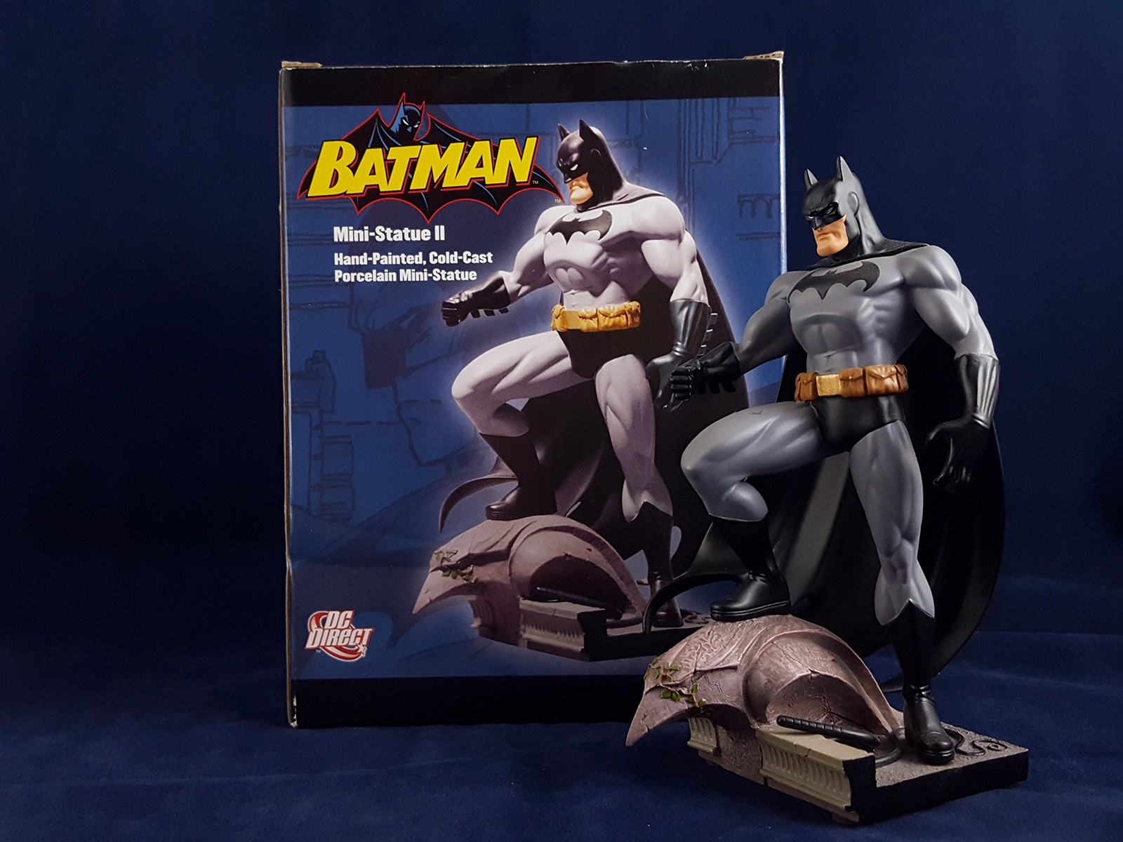Jim Lee Batman Mini Statue II