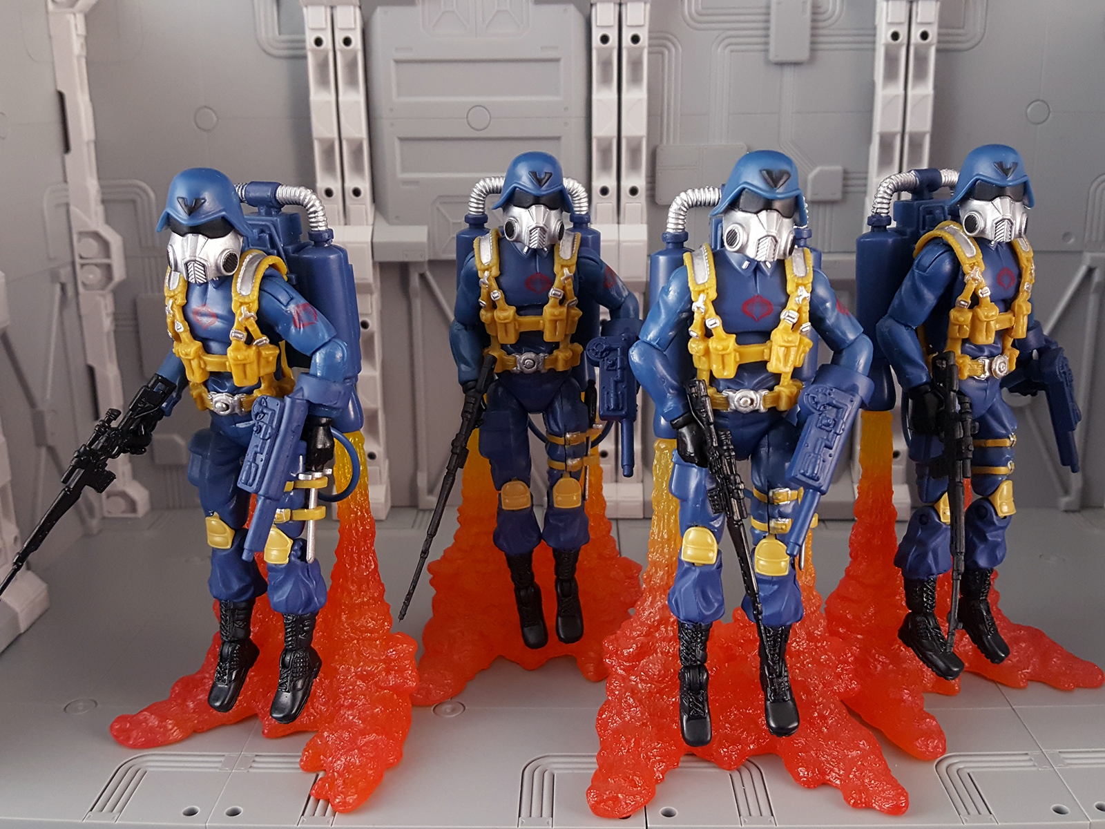 25th Air Troopers with Blast Effects