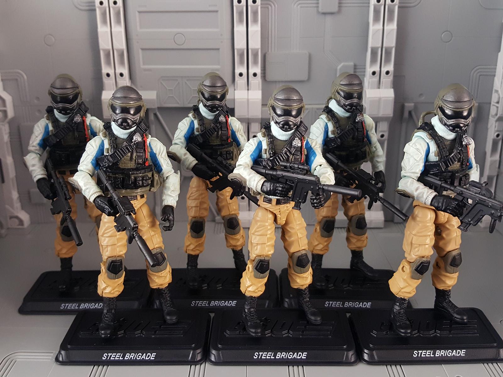 Pursuit of Cobra Steel Brigade