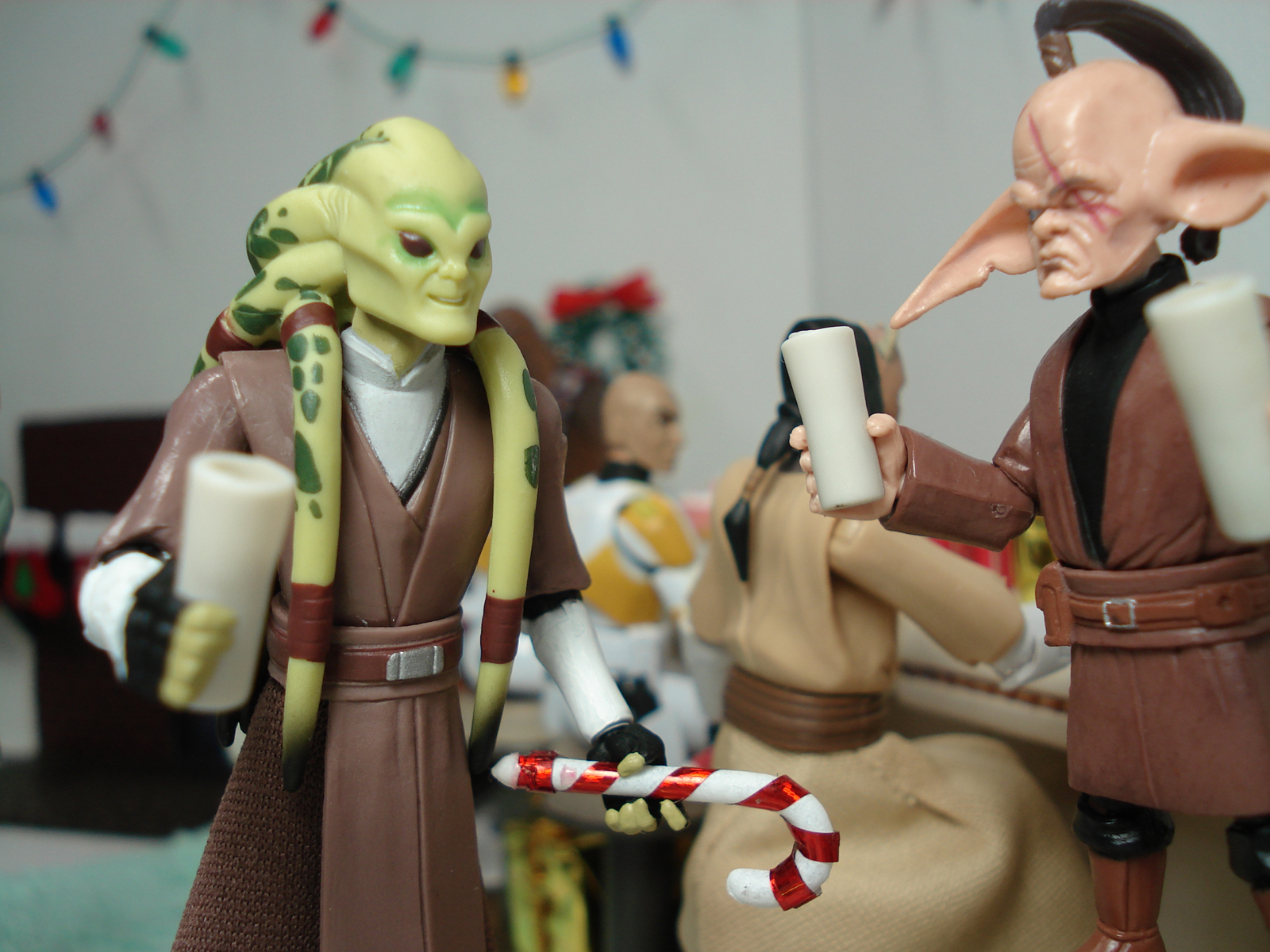 Kit Fisto is amused