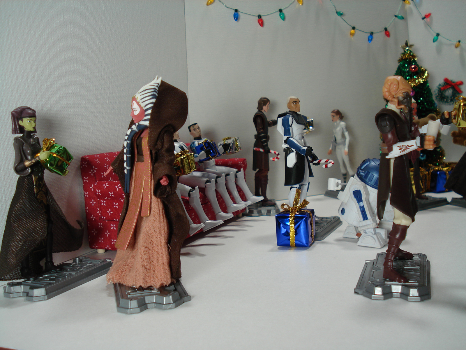 The Clone Wars Holiday Special Diorama I