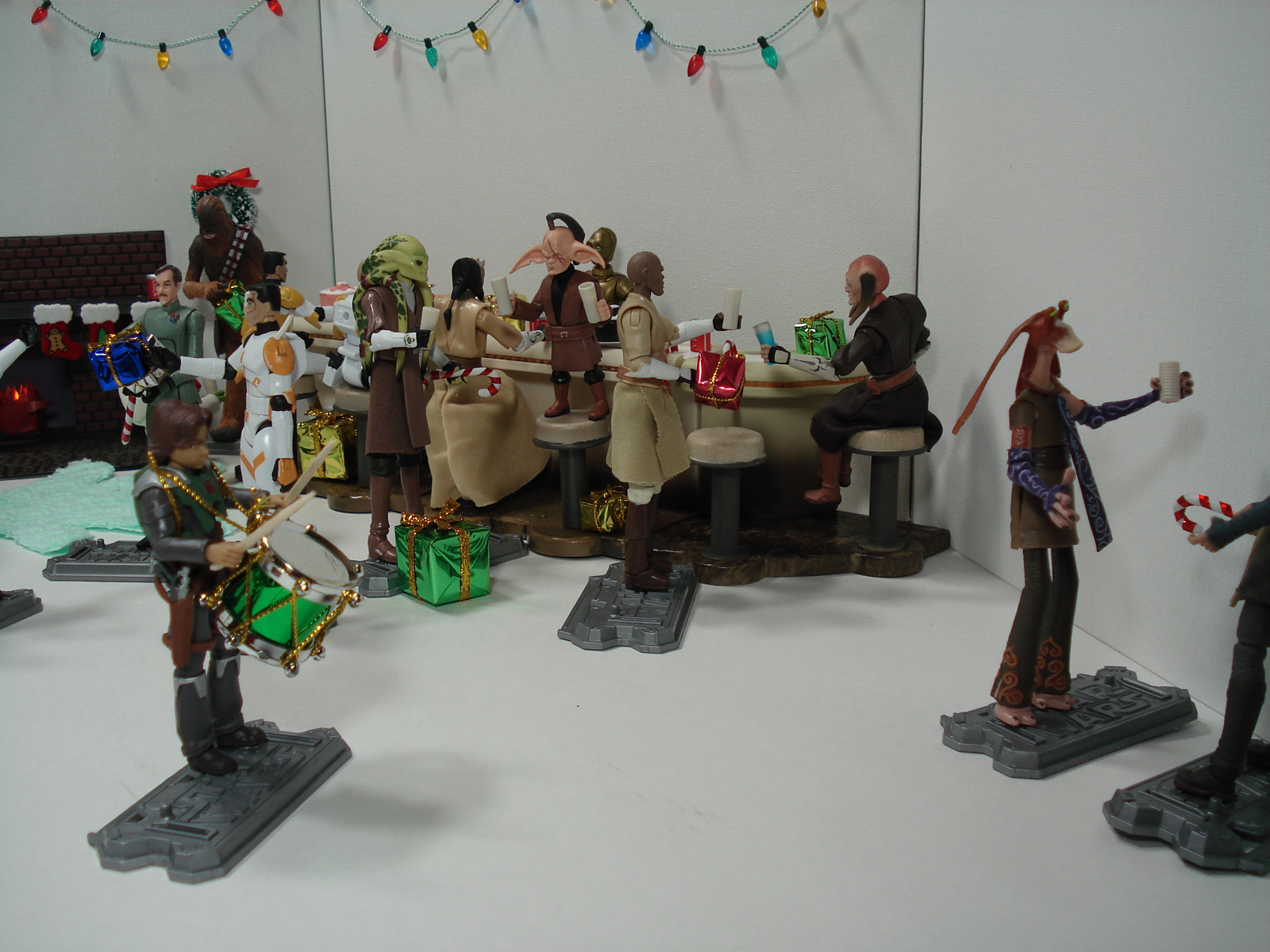 The Clone Wars Holiday Special Diorama V